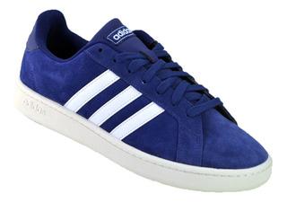 Zapatillas Adidas Con Lengueta Grande Zapatillas Azul