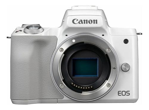 Imagen 1 de 3 de Canon EOS M50 sin espejo color  blanco