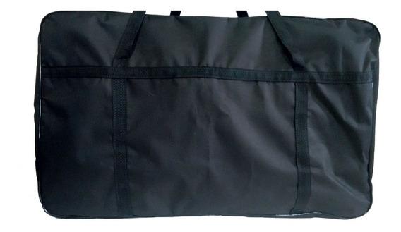 Sacolao Bolsa Compra Nylon600 Paraguai 76x48x28cm Com Zíper