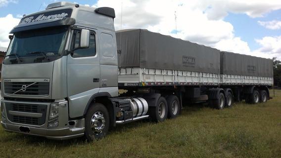 Volvo Fh 440 Globetrother 6x2 2012 Bitrem