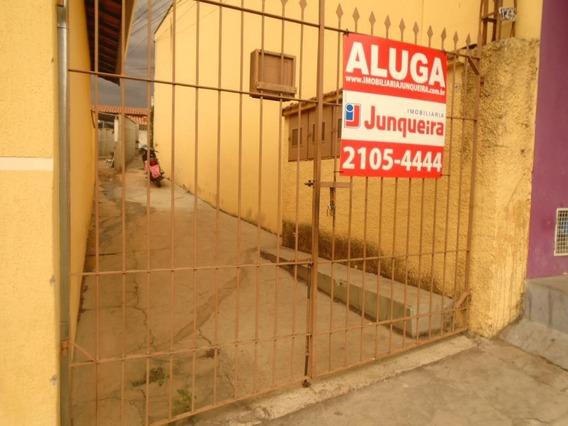 Casa Com 1 Dormitório Para Alugar, 50 M² Por R$ 500,00/mês - Vila Rezende - Piracicaba/sp - Ca1048