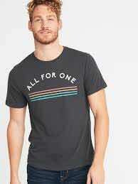 Remera Old Navy All For One, Hombre