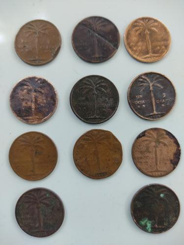 Monedas Dominicanas Palmita