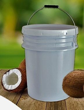 Aceite De Coco (sin Olor Y Sin Sabor) Cubeta De 19 Litros