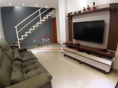 Maravilhosa Casa Triplex Condomínio Fechado. - Pacn20059