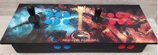 Control, Maquinita Arcade Básic 2 Player Juegos Incluidos Tv