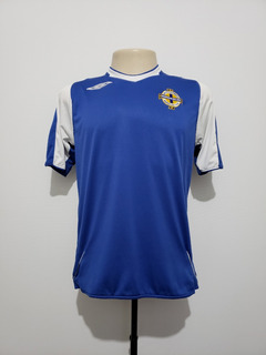 Camisa Futebol Seleção Irlanda Do Norte 2006 Away Umbro P