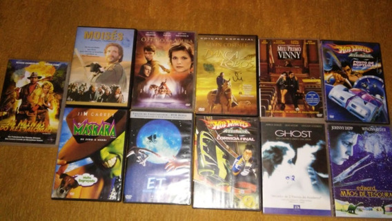 11 Dvds Originais Usados