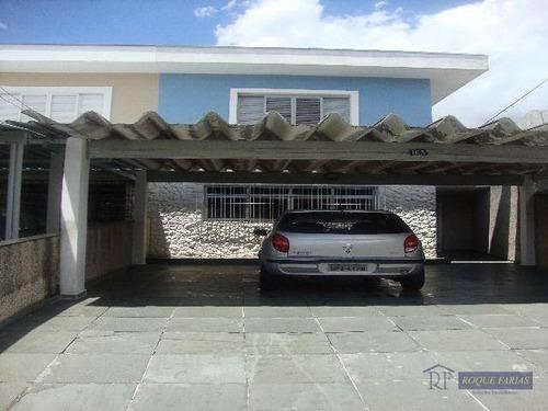 Sobrado Residencial À Venda, Jaguaré, São Paulo - So0181. - So0181