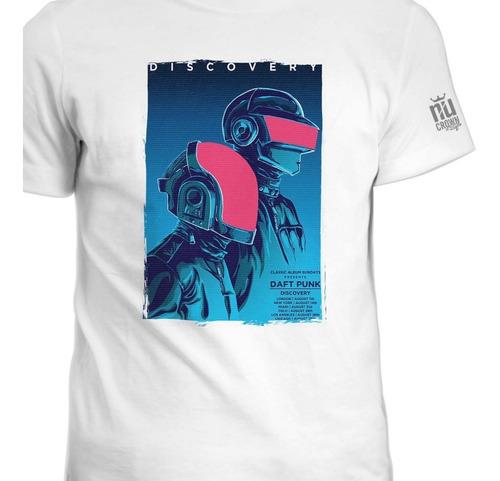 Camisetas Daft Punk Electrónica Trance Tecno Ink