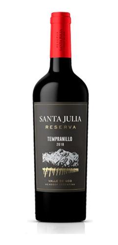 Imagen 1 de 5 de Santa Julia Reserva Tempranillo X 750ml