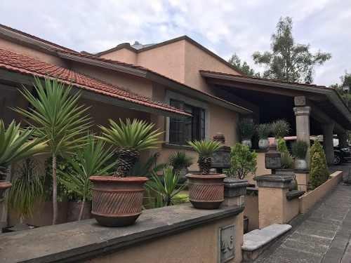 Casa En Fraccionamiento Exclusivo En Bosques De Las Lomas