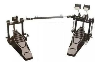 Doble Pedal De Bombo Parquer Star Doble Cadena Bateria Cuota