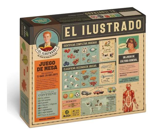 Imagen 1 de 6 de Juego De Mesa El Ilustrado Original Maldon