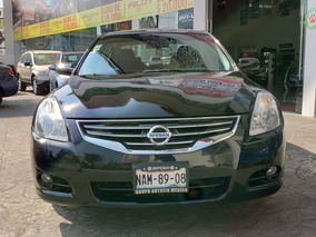 Nissan Altima 2.5 Sl At Piel Cvt 2010 65 Mil De Enganche