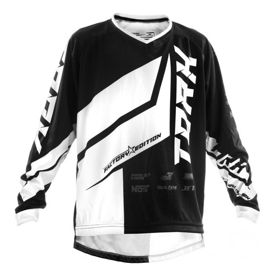 Remera Motocross Factory Edition Pro Tork Adulto Sportbay