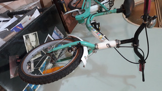 Bicicleta Rod 16 Vairo Niña ( Casi Sin Uso)