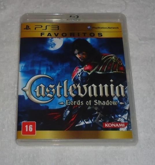 Castlevania Lords Of Shadow Favorito Ps3 * Frete Grátis Leia