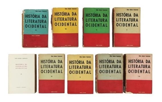 História Da Literatura Ocidental - Obra Otto Maria Carpeau