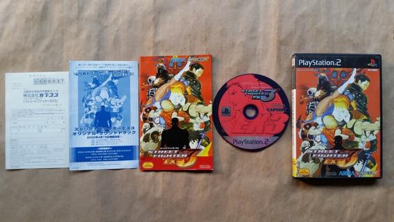 Street Fighter Ex 3 Ps2 Original Japones Leia Frete 12