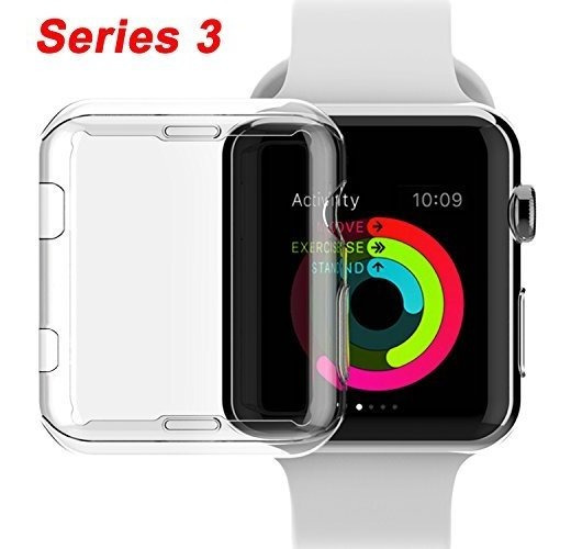 Nsr Apple Watch Series 3 38mm Case Iwatch Tpu Protector De P