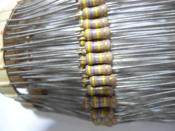 Resistor / 470k X 1/4w - 5% De Tol - Envio Por Carta