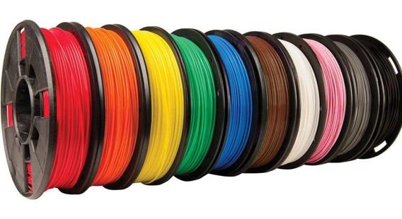 Filamento Pla 175mm Premium - Alto Teor Pureza 500gr Cores