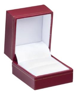 Estuche Caja Anillo Estilo Cartier Ecocuero Forrado Garant.