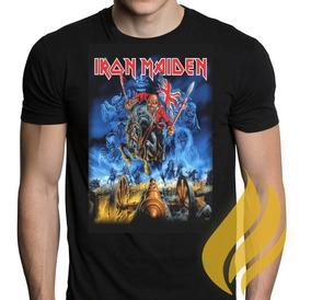 Camiseta Camisa Iron Maiden The Trooper Promoção