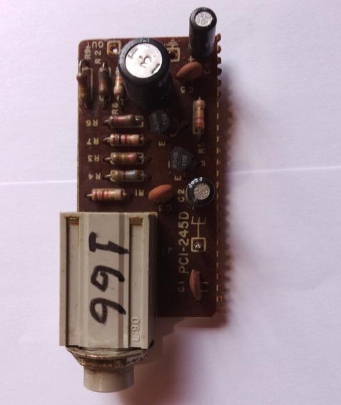 Placa Do Fone Do Amplificador Modelo 166 Gradiente
