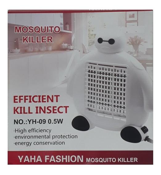 Luminaria Armadilha Mata Pernilongo Mosquito Eletrico Bivolt