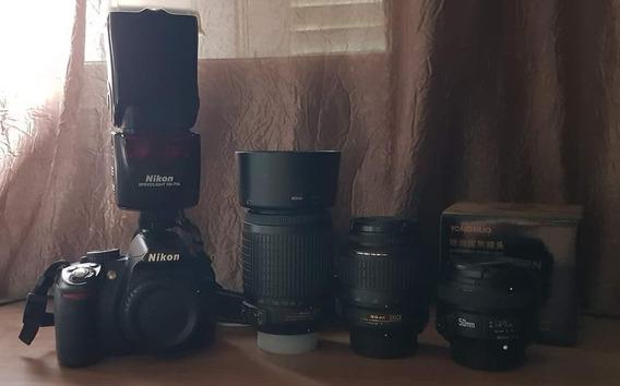 Kit Fotográfico Nikon
