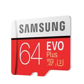 Cartão De Memória Microsd Uhs-3 64gb Samsung 100mb/s Leitura