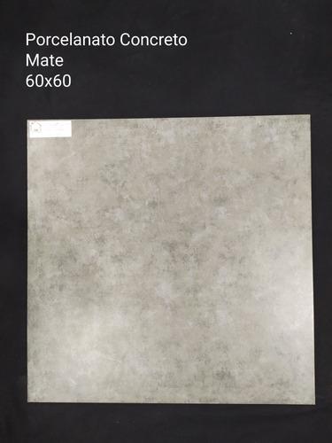 Porcelanato Concret Mate 60x60