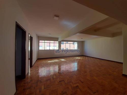 Imagem 1 de 23 de Apartamento À Venda, 226 M² Por R$ 290.000,00 - Centro - Londrina/pr - Ap1762