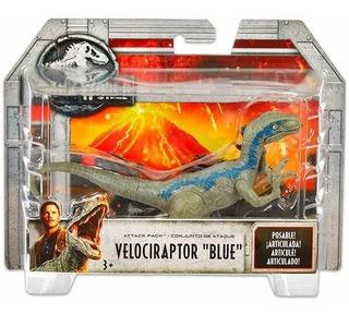 Jurassic World Fallen Kingdom Blue Velociraptor Mattel