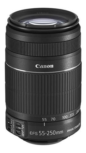 Lente Canon Efs 55-250mm F/4-5.6 Is Ii Env Hoje Garantia Nfe