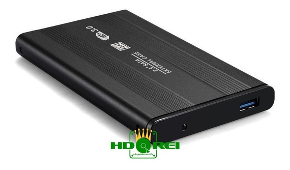 Hd Externo - 500gb - Usb 3.0 - Novo E Com Garantia.