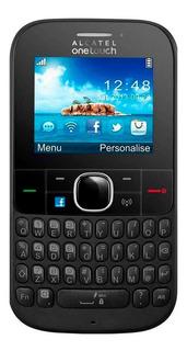 Celular Basico Alcatel 3075m,3g Roteador, Wi-fi Radio Anatel