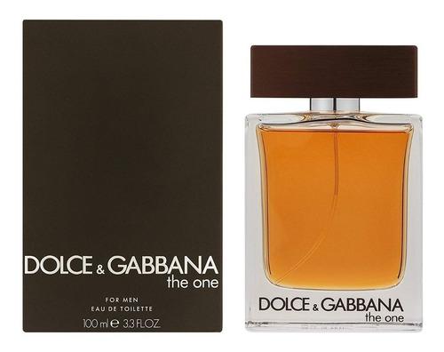 Perfume Importado Dolce & Gabbana The One For Men Edt 100ml
