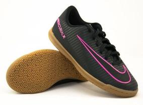 4b3621ceb0c3e Chuteira Nike Mercurial Rosa Roxo - Chuteiras Nike para Infantil no ...
