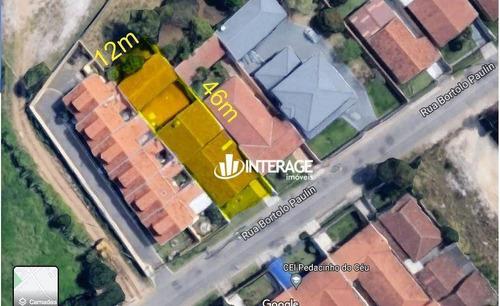 Imagem 1 de 16 de Terreno À Venda, 551 M² Por R$ 1.250.000 - Santa Felicidade - Curitiba/pr - Te0328