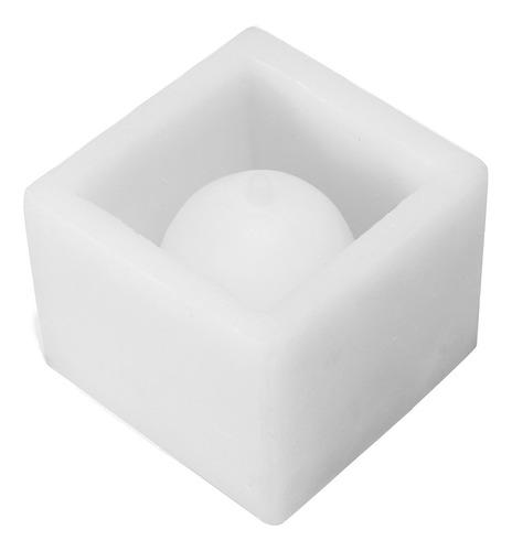 Imagen 1 de 10 de Cube Silicona Molde Diy Maceta De Jardín Maceta De Jardín Ja