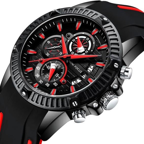Relógio Masculino Minifocus Original Importado Prova D