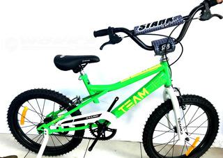 Bicicleta Rod 16 Stark Varón C/rueditas Bmx-works!!