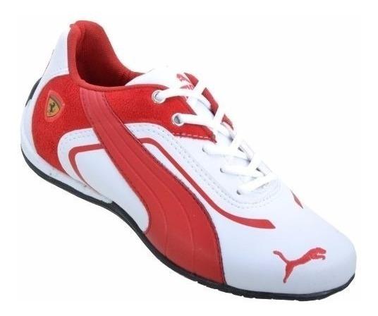 Tênis Sapatênis Ferrari Puma Academia Caminhada Casual