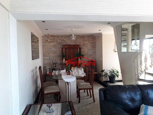 Cobertura Com 3 Dormitórios À Venda, 180 M² Por R$ 750.000,00 - Penha De França - São Paulo/sp - Co0009