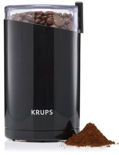 Krups F203 Molinillo Electrico De Cafe Especias 3 Onzas