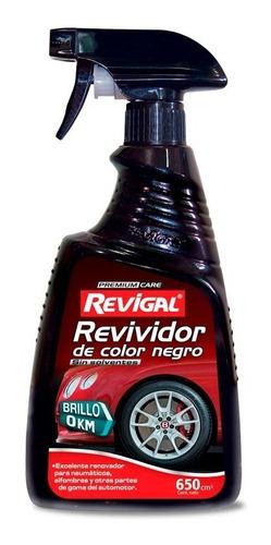 Revividor Negro Llanta Rueda Tablero Rueda Auto Revigal
