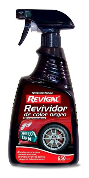 Revividor Negro Llanta Rueda Tablero Rueda Auto Revigal